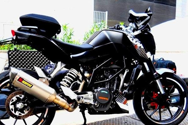 Harga Knalpot Racing Motor KTM DUKE 250 Murah Terbaru