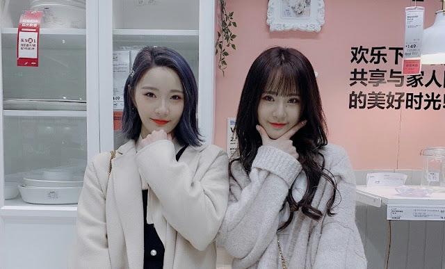 Saudari Kembar Liu Jiao dan Liu Na eks SHY48 Ungkapkan Keinginannya Buka Kedai Teh