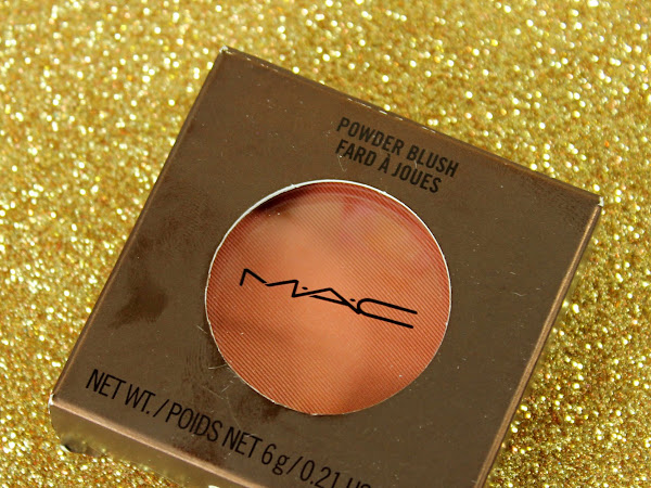 MAC Monday: MAC Temperature Rising - Ripe For Love Blush Swatches & Review