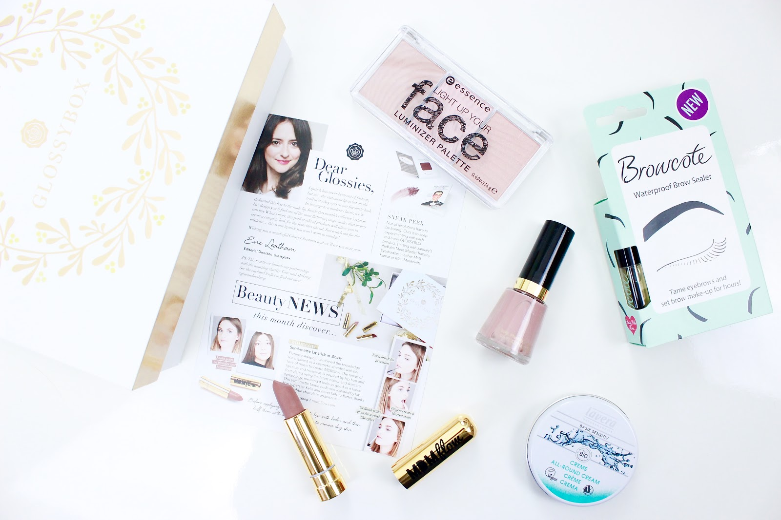 Whats Inside The December 2016 Glossybox Edition