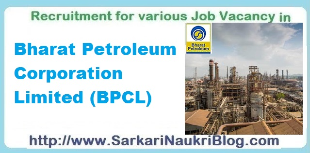 Naukri Vacancy Recruitment BPCL