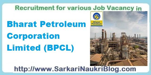 Naukri Vacancy Recruitment BPCL