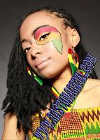 Perempuan Afrika Rasta