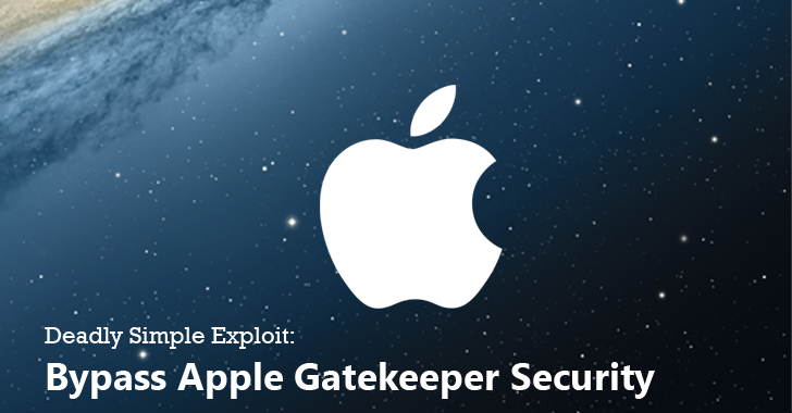 Deadly Simple Exploit Bypasses Apple Gatekeeper Security to Install Malicious Apps