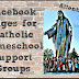 Catholic Homeschool Support Groups on Facebook - UPDATED