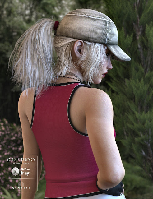 Dolly Changeable Hair for Genesis 3 Female