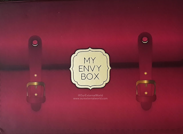 My Envy Box April 2017 #WorkHardGlamHard