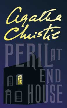 Peril at End House by Agatha Christie - book cover
