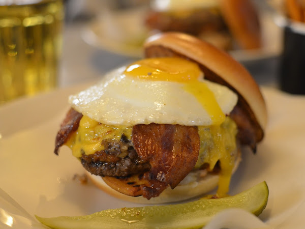 SPECIAL - The Calvin Haggis at Byron Burgers