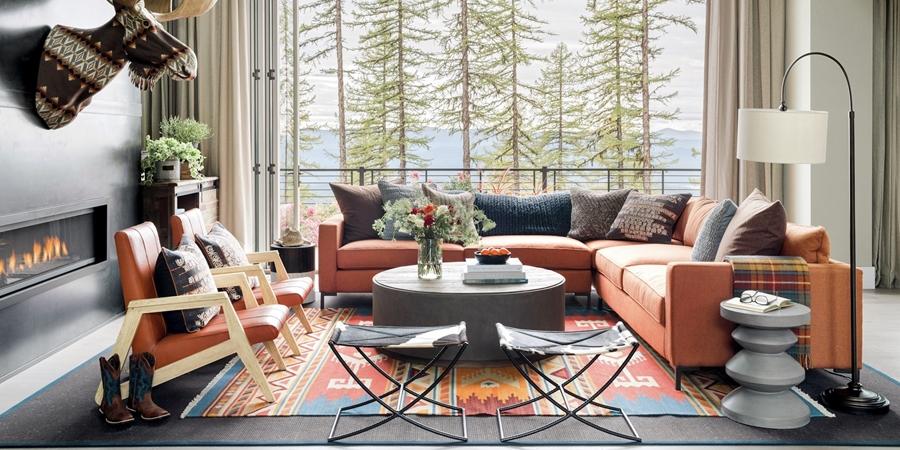 wystrój wnętrz, wnętrza, urządzanie mieszkania, dom, home decor, dekoracje, aranżacje, dom w górach, dom drewniany, styl skandynawski, styl eklektyczny, styl rustykalny, mocne kolory, salon, jadalnia, kuchnia, sypialnia