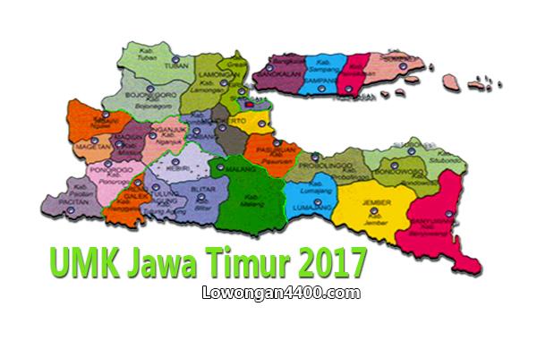 Nilai UMK Jawa Timur 2017 Terbaru