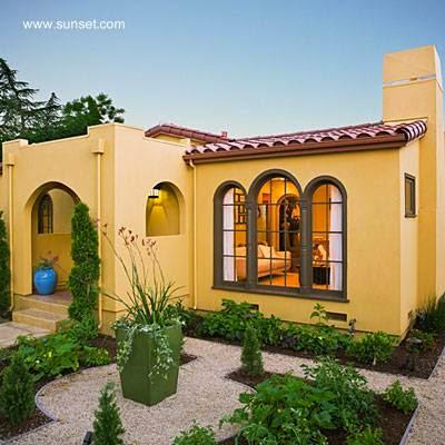 Arquitectura de casas 45 fachadas de casas peque as for Jardines para frentes de casas pequenas
