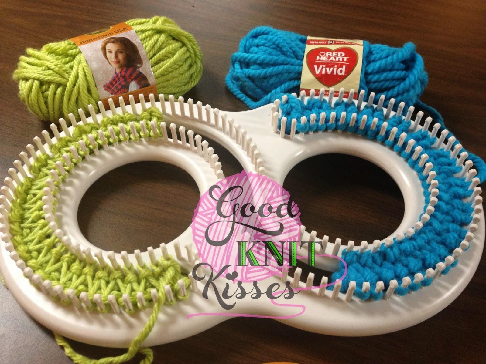 Goodknit Kisses Double Knitting On Knittingboard Super