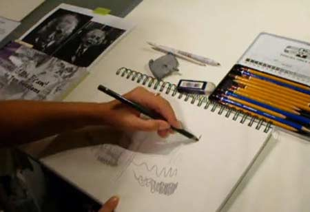 Drawing tools for the new pencil artist