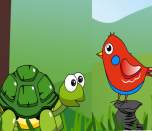 Cuento corto en inglés: The tortoise and the bird