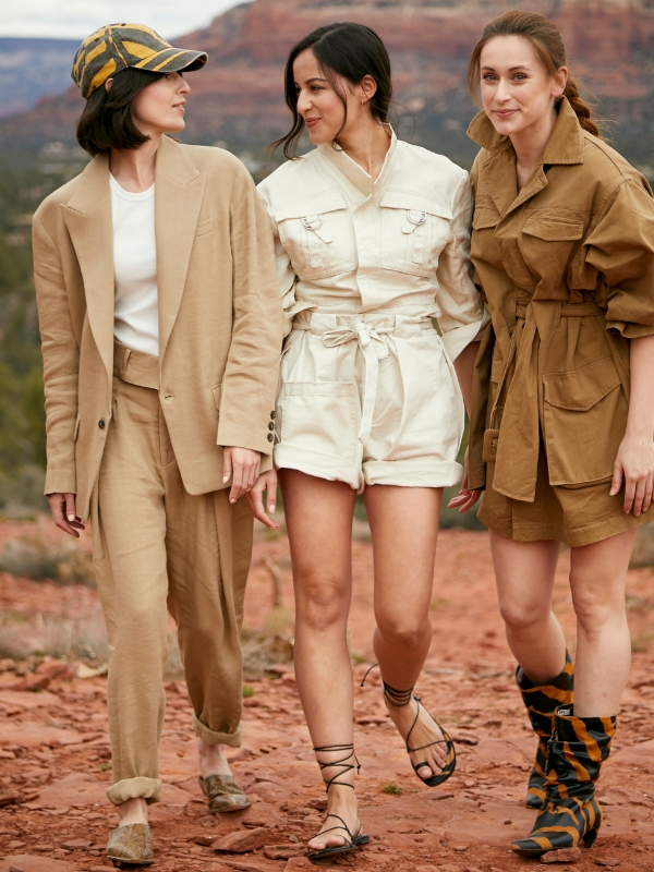"""H&M presented its H&M Studio SS19 collection via an immersive theatre event in Sedona, Arizona. A global audience of ambassadors and media were invited to participate in a scripted narrative based on the collection's muse, """"The Glam Explorer"""" 