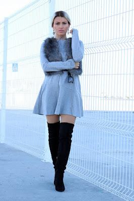 Outfits con botas de moda Negras