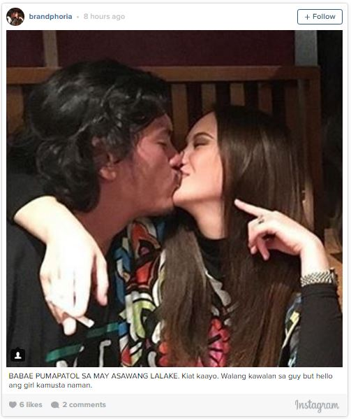 Picture of Ellen Adarna Kissing Baste Duterte Leaked On The Internet And It Goes Viral! Must See!