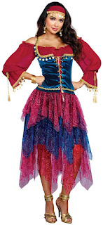 Gypsy Women's Adult Costume for Halloween