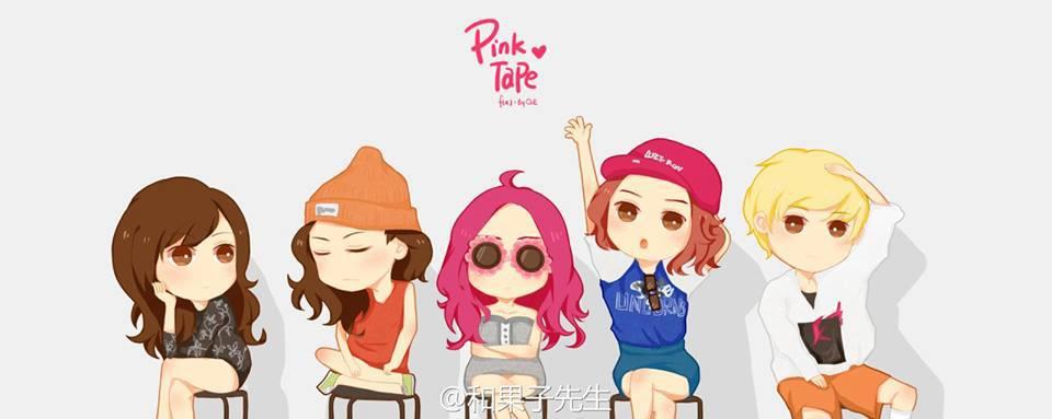 F(x) Fanart Pink Tape | f(x) Tunisia F(x) Pink Tape Fanart