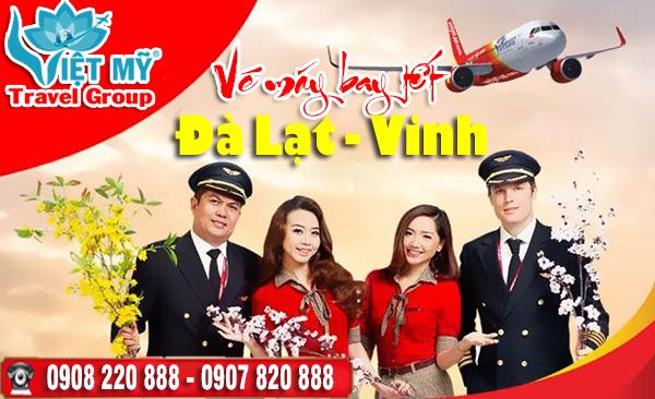 Vé máy bay tết Đà Lạt đi Vinh 2018