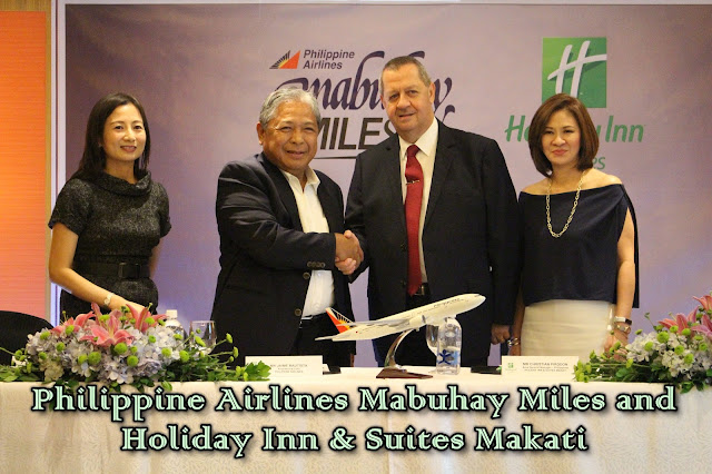 PAL Mabuhay Miles and Holiday Inn & Suites Makati Partnership Launch