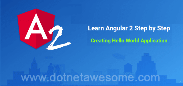 Learn Angular 2 step by step
