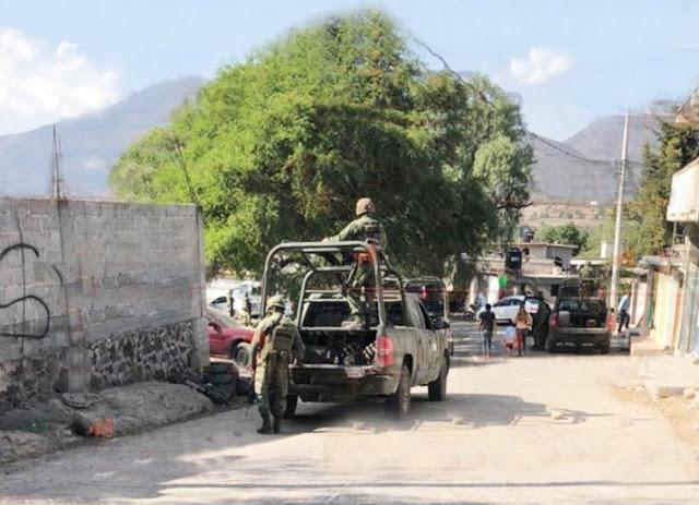 5 MUERTOS Y 3 HERIDOS DEJA ENFRENTAMIENTO EN TEZONTEPEC DE ALDAMA HIDALGO
