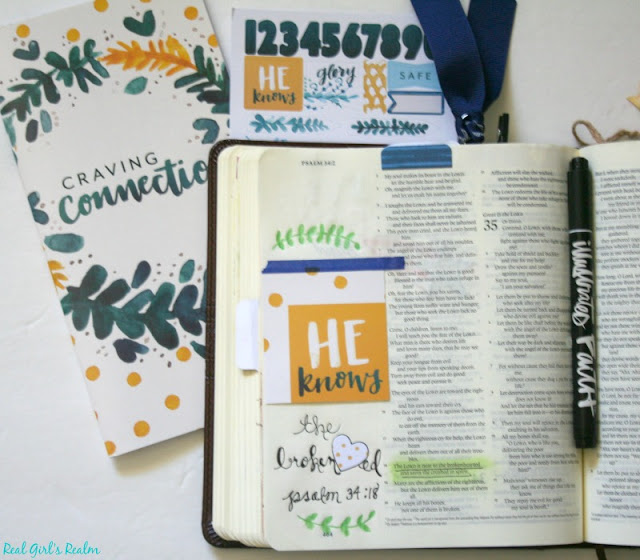 Sometimes you just need the proper tools to inspire you to spend time in the Word, like the Craving Connection Devotional Kit!