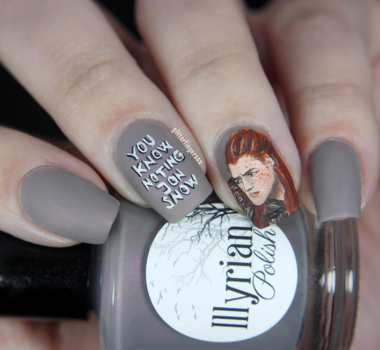 You Know Nothing Jon Snow Glitterfingersss In English