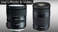 Tamron 24-70mm f2.8 G2 & 18-400mm HLD Lenses - Leaked Information & Images 6/24/2017