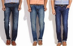 Flat 44% Off on Men's Denim (Lee, Levi's, Wrangler & more)@ Flipkart (Limited Period Offer)