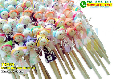 Pensil Boneka Colorfull