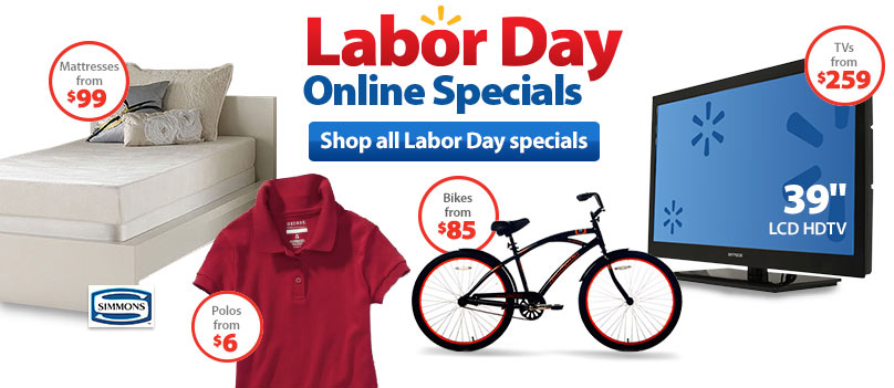 Walmart Labor Day Sales 2013 Online Specials On