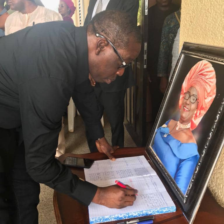 Delta State Governor mourns as Chief Judge of Delta State loses wife