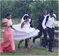 GOING VIRAL: This wedding had to go on, come rain, come sunshine - (PHOTO)