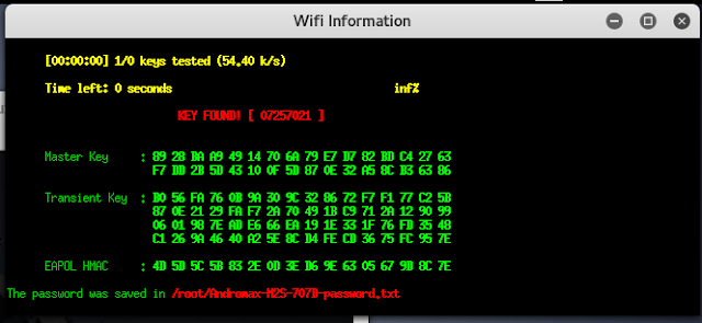 Cara hack wifi