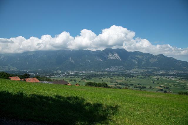 Historische Höhenweg von Bendern nach Schellenberg  Wandern Liechtenstein 12