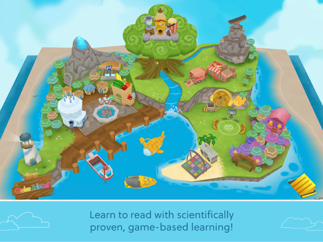 Ooka Island Game Based Reading Program