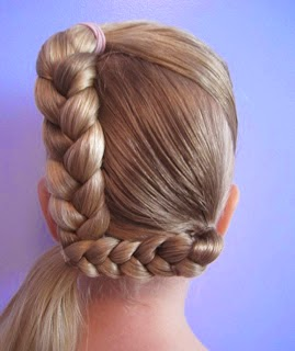 Cute hair style for kids}