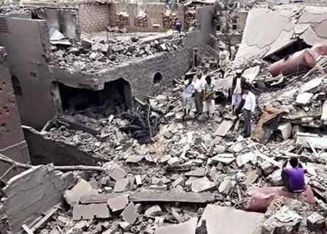 Lagi, Pesawat Tempur Saudi Sasar Kawasan Penduduk Yaman