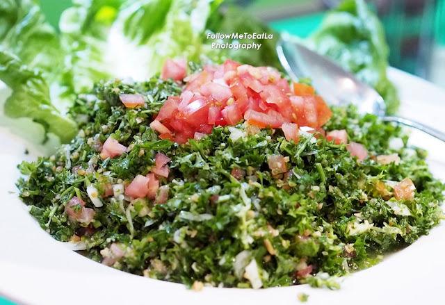 Tabbouleh - Lebanese Salad