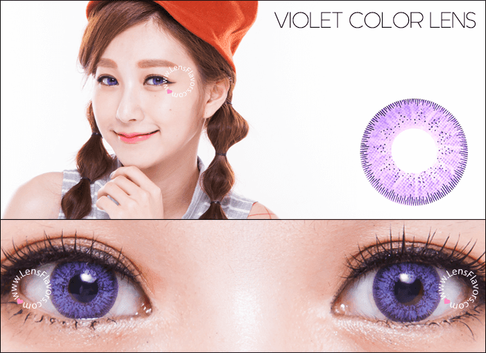 gg gbt violet  circle lenses
