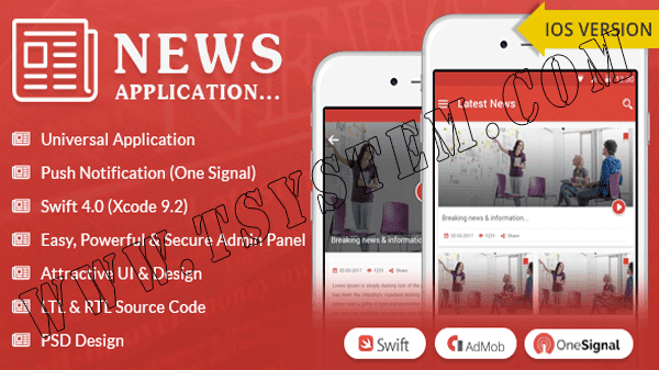 download CodeCanyon - iOS News App - Swift4 for free