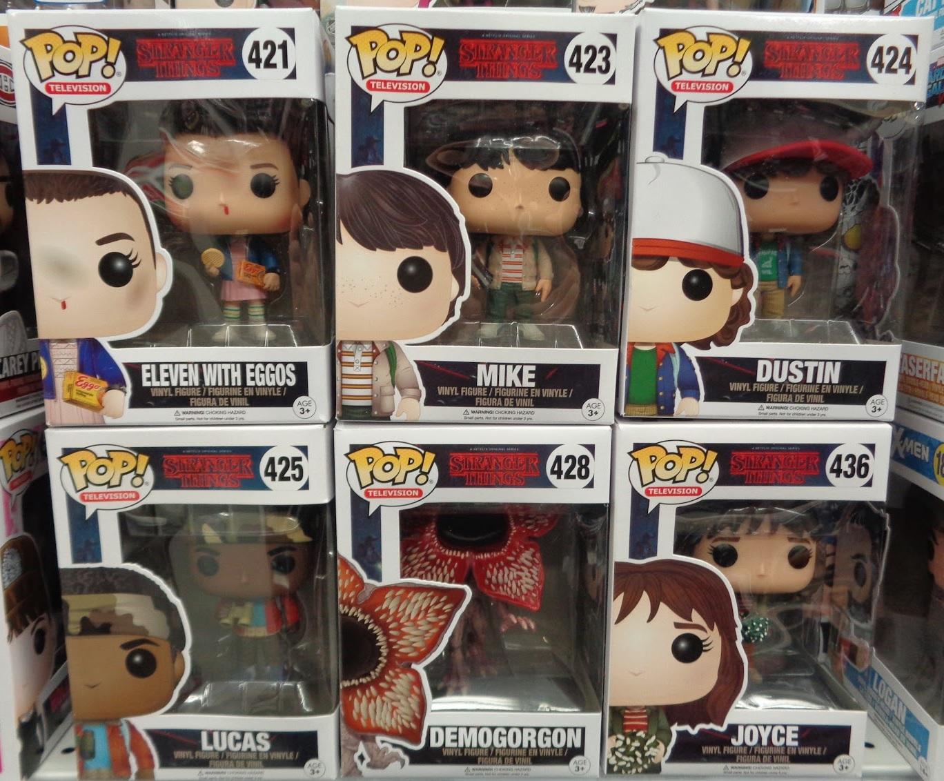 J And J Toys: Funko Pop! Stranger Things