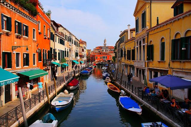 Benátky, odpolední pohoda