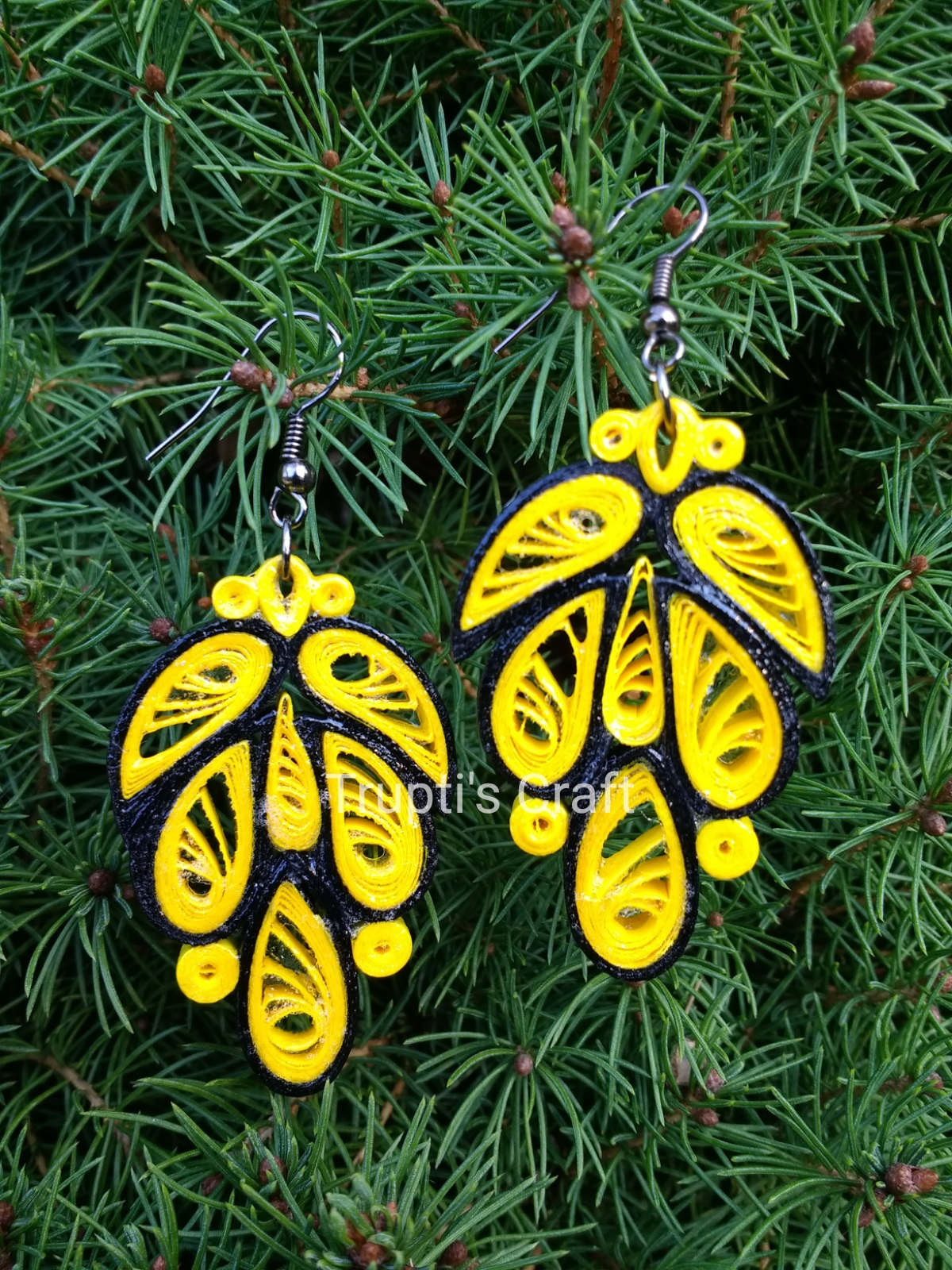 Each Paper Quilling Product Is Hand Varnished To Make It Sy Durable And Water Resistant If You Want Anything Or Need