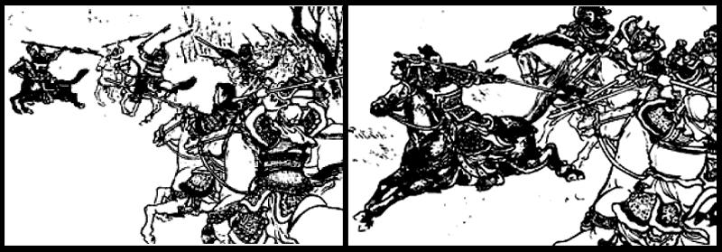 6 ทหารเอกรุมรบลิโป้ : เคาทู เตียนอุย แฮหัวตุ้น แฮหัวเอี๋ยน งักจิ้น และ ลิเตียน
