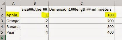 Revit Lookup Table Inconsistent Units