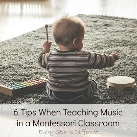 6 Tips When Teaching Music in a Montessori Classroom